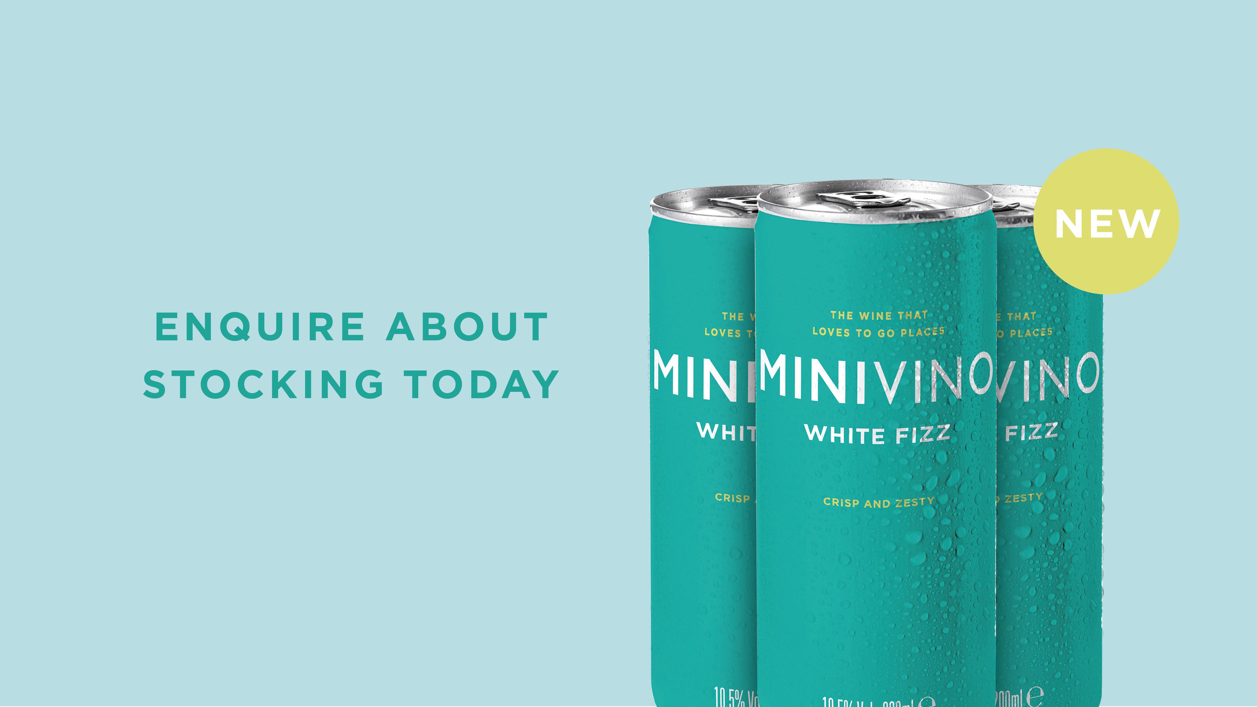 Minvino  White Fizz Can
