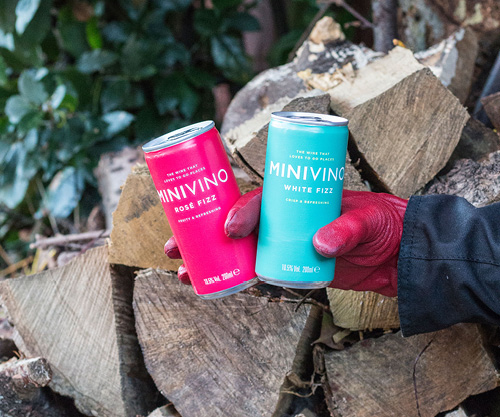 MINIVINO Fizz cans